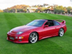 Nissan 300ZX 2-seat rims and wheels photo